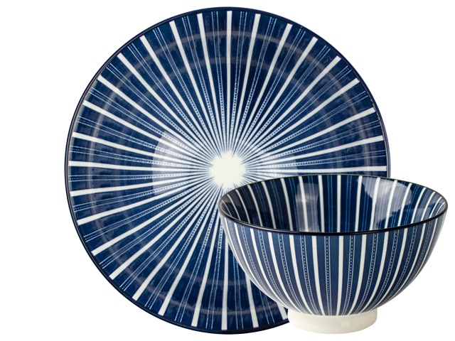 ECP 13.5cm bowl - Stripes
