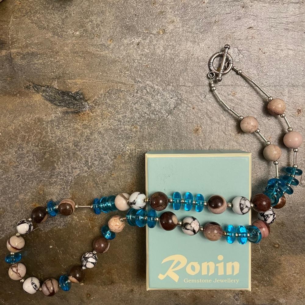 Ronin Azure 1 Necklace