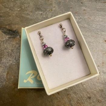 Ronin Earrings - Rosa