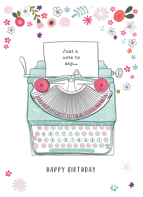 Emma Bryan - Just a Note to Say Happy Birthday
