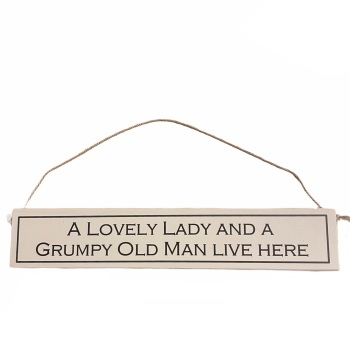 Wit with Wisdom - A Lovely Lady and a Grumpy Old Man Live Here
