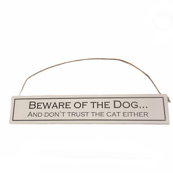 Wit with Wisdom - Beware of the Dog...