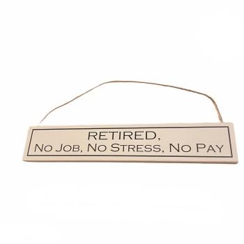 Wit with Wisdom - Retired, No Job, No Stress, No Pay