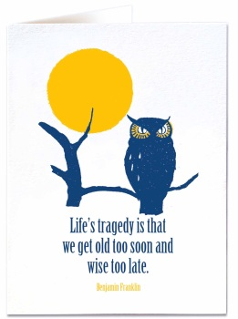 Archivist - Life's Tragedy is that...