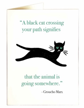Archivist - A Black Cat Crossing Your Path...