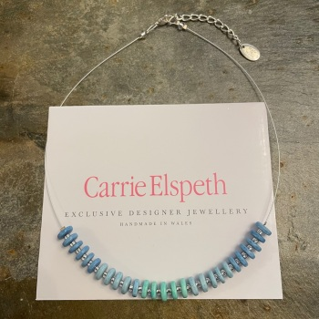 Carrie Elspeth - Blue 'Candy' Necklace