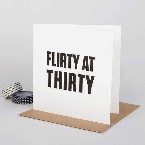 Bespoke Verse - Flirty at Thirty