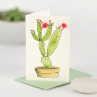 Penny Lindop Mini Card - Cactus