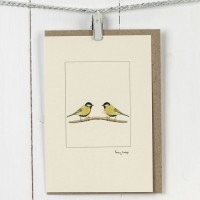 Penny Lindop - Large Card (Great Tit)