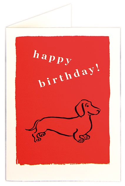 Archivist (Small Card) - Happy Birthday