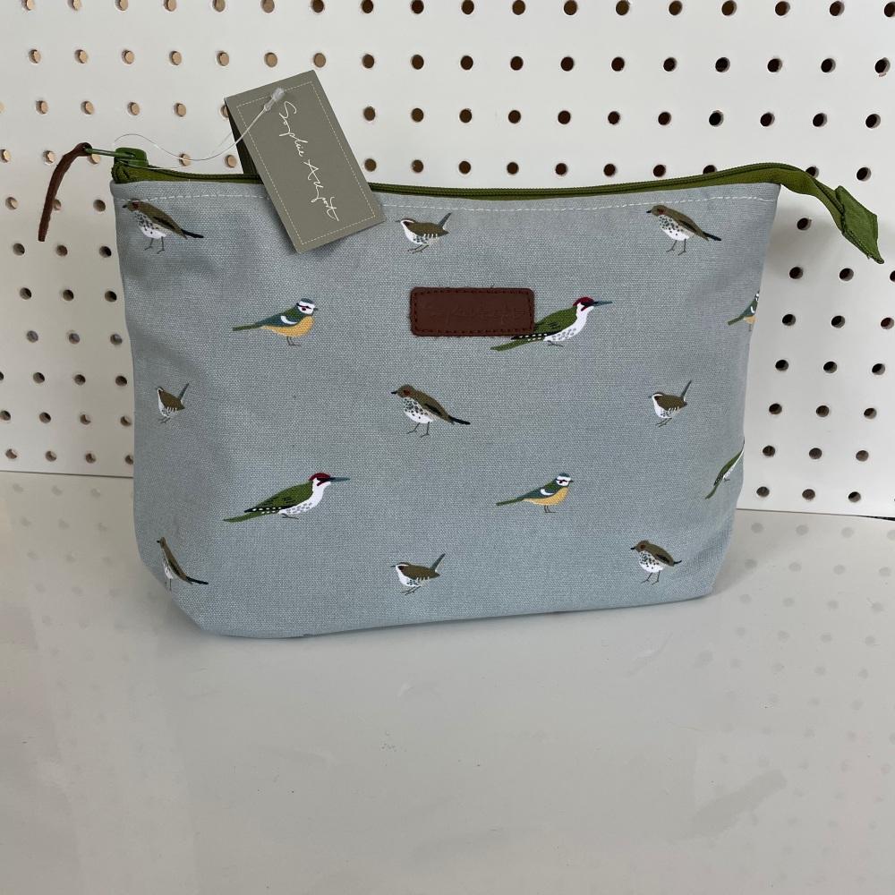 Sophie Allport Large Wash Bag - Birds