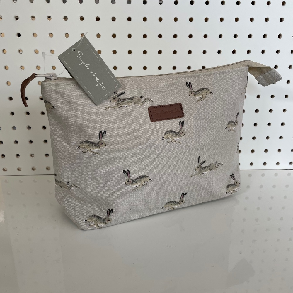 Sophie Allport Large Wash Bag - Hares