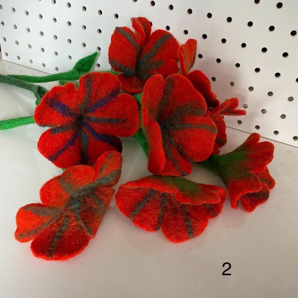 Funky Yak - Felt Flower 1