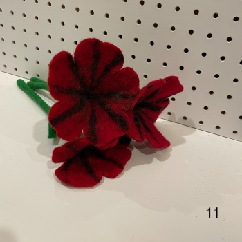 Funky Yak - Felt Flower 11