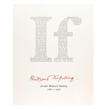 Archivist - Rudyard Kipling's If...