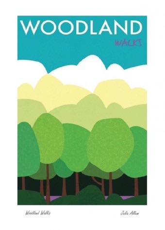 Mistletoe House: Julia Allum - Woodland Walks