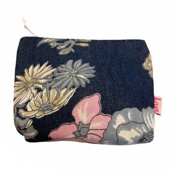 Lua Small Fabric  Purse - Blue Floral