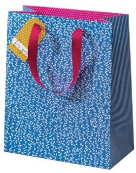 Cinnamon Aitch Medium Gift Bag - Blue Willow
