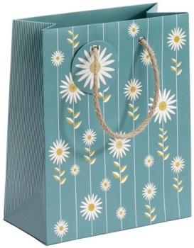 Cinnamon Aitch Medium Gift Bag - Cornflower Daisies