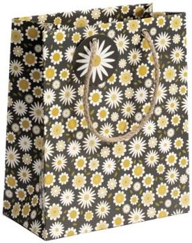 Cinnamon Aitch Medium Gift Bag - Daisy Pattern