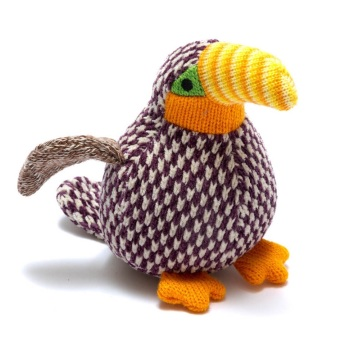 Best Years Knitted Rattle - Toucan