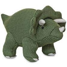 Best Years Knitted Dinosaur -