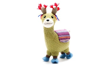 Best Years Knitted Toy - Small Llama