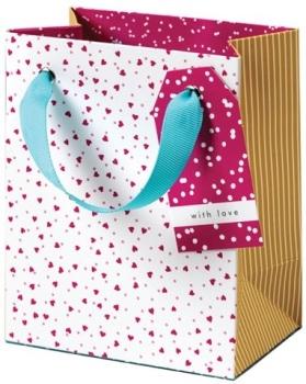 Cinnamon Aitch Small Gift Bag - Ditsy Hearts