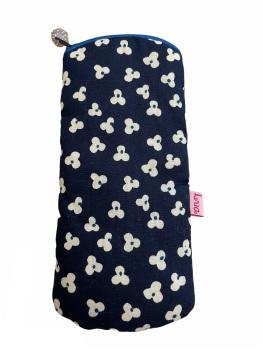 Lua Glasses Case - Blue Ditsy Flowers