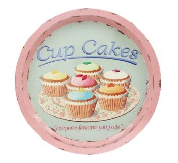 ECP Tin Tray - Cup Cakes