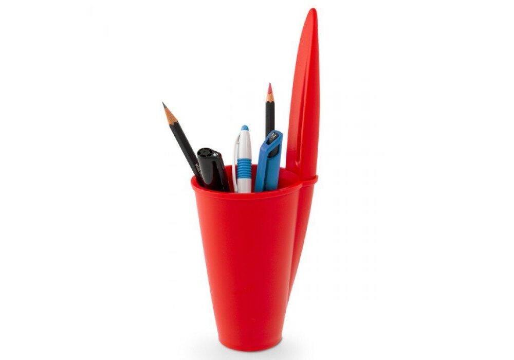 J-me Bic Pen Pot - Red