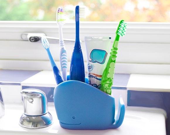 J-me Larry Toothbrush Holder - Purple