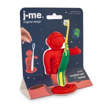 J-me Apollo Toothbrush Holder - Red