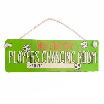 Angelic Hen - No Entry: Players Changing Room - My Team is...