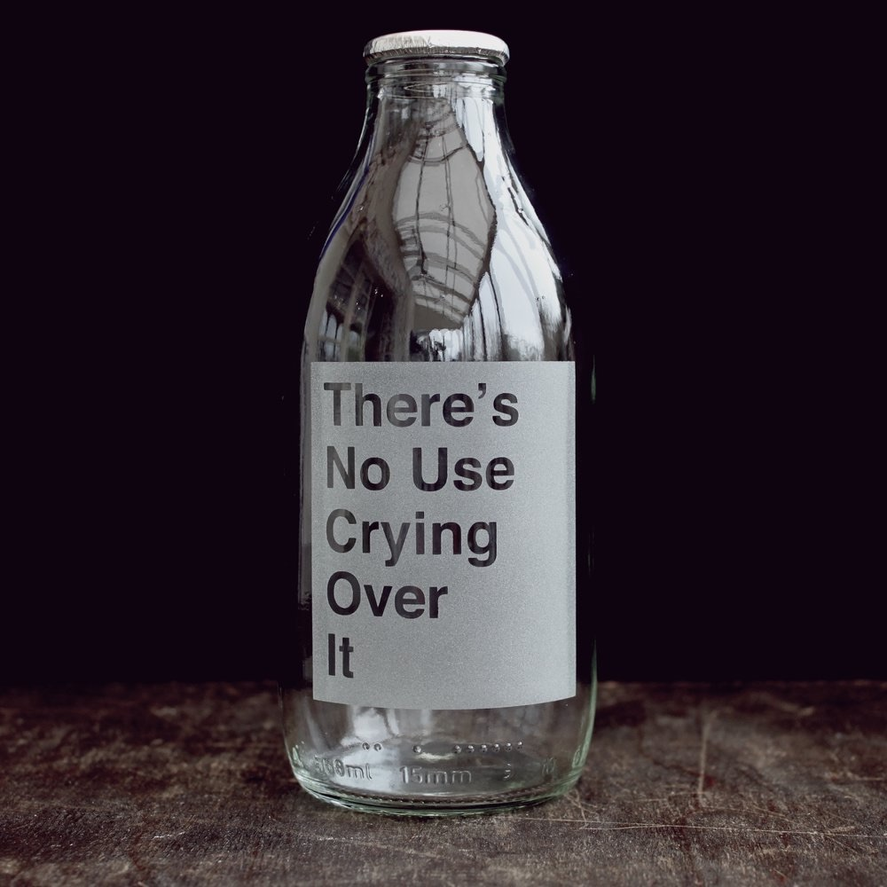 Vinegar & Brown Paper - No use crying over it...