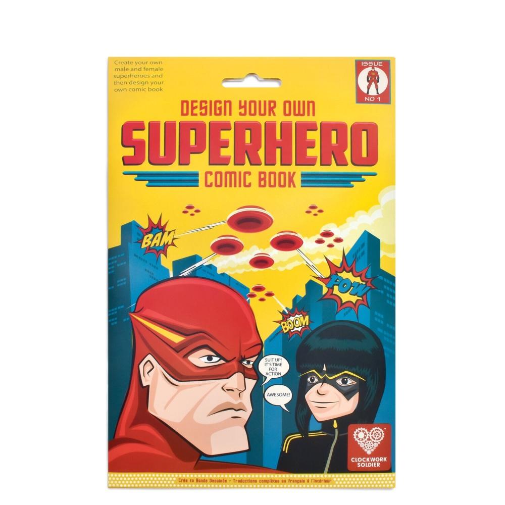 Clockwork Soldier Design Your Own Superhero Comic Book