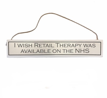 Wit with Wisdom - I wish retail therapy was available on the NHS