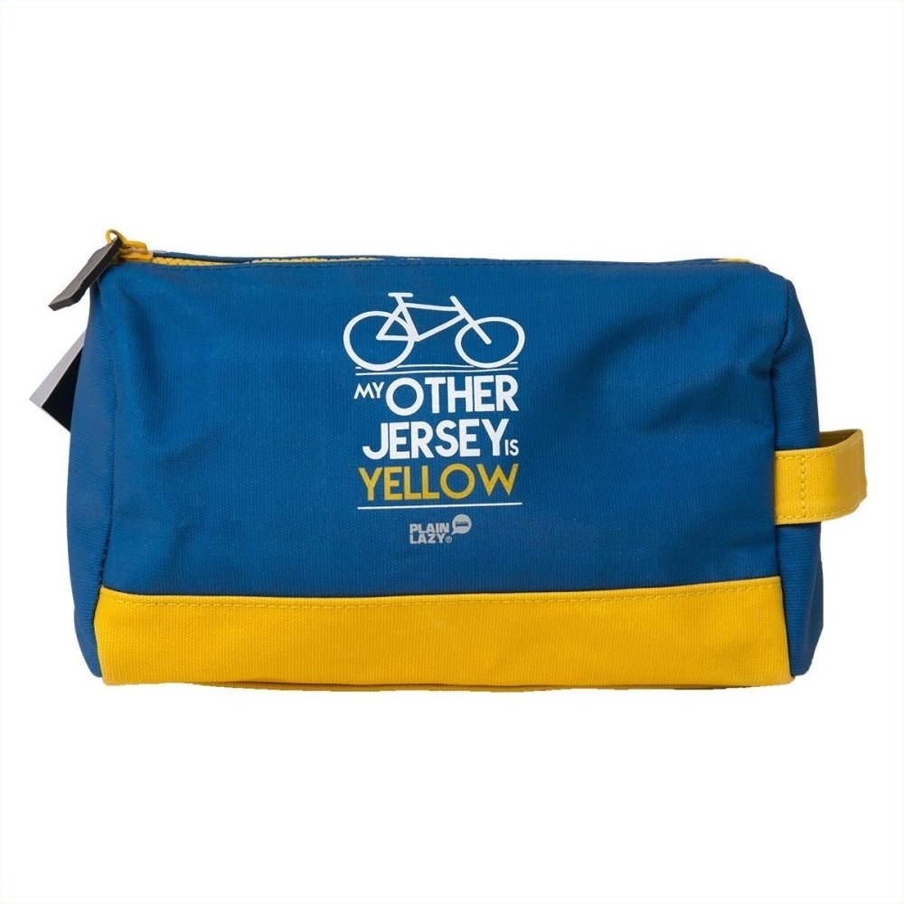 Half Moon Bay Wash Bag - My Other Jersey is Yellow
