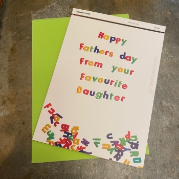Brainbox Candy - Happy Fathers Day from your favourite daughter