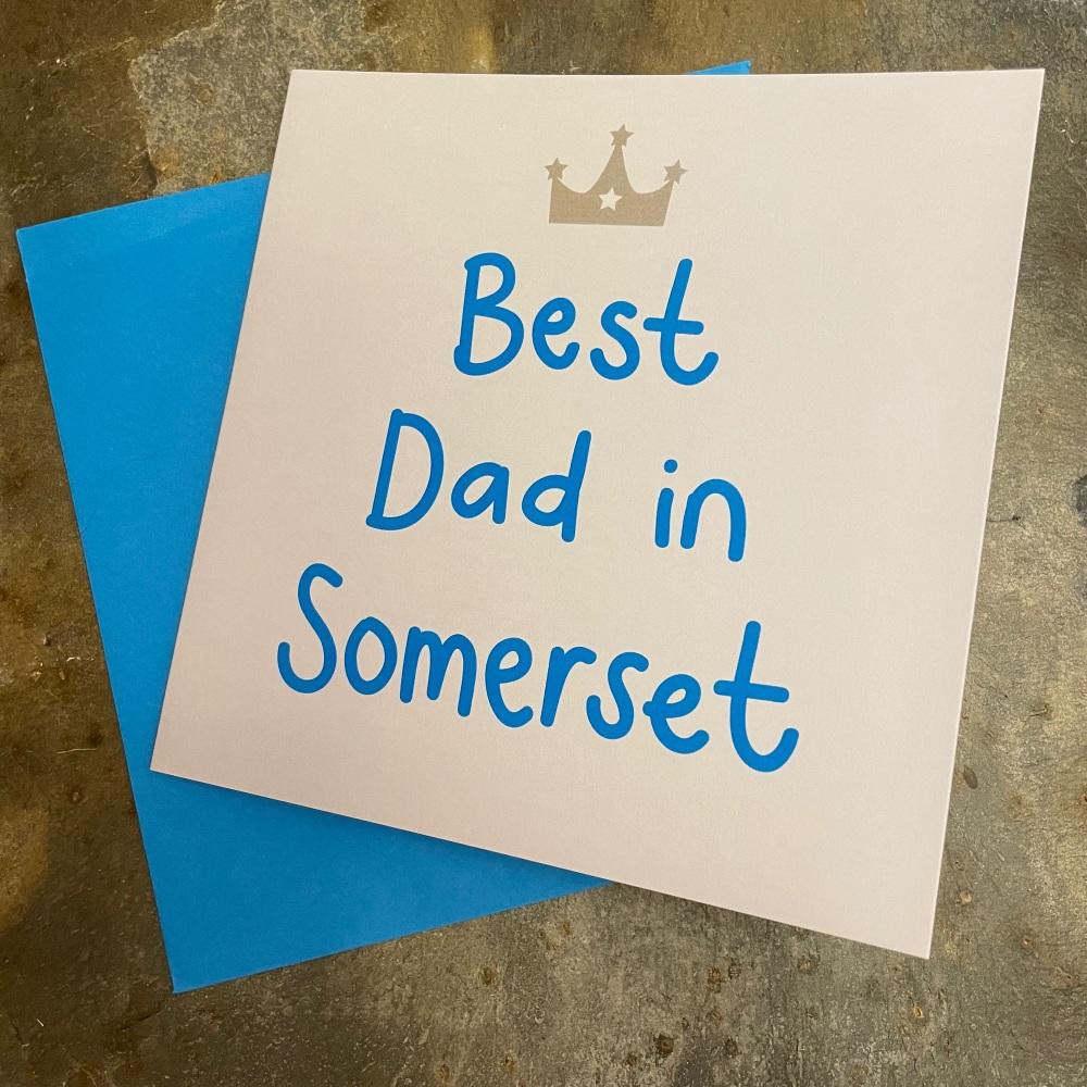 Megan Claire - Best Dad in Somerset