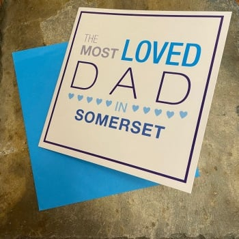 Megan Claire - Most Loved Dad in Somerset