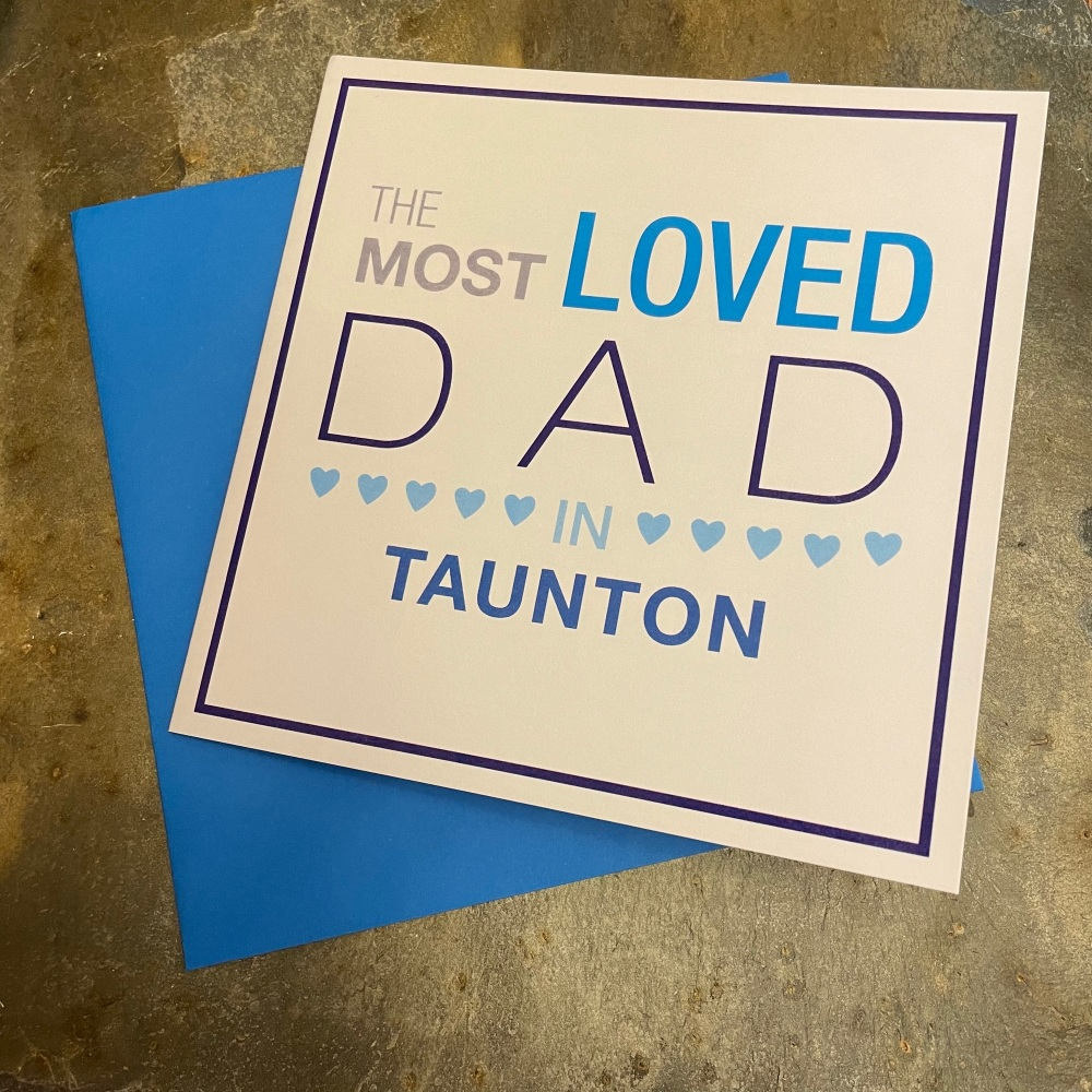Megan Claire - Most Loved Dad in Taunton