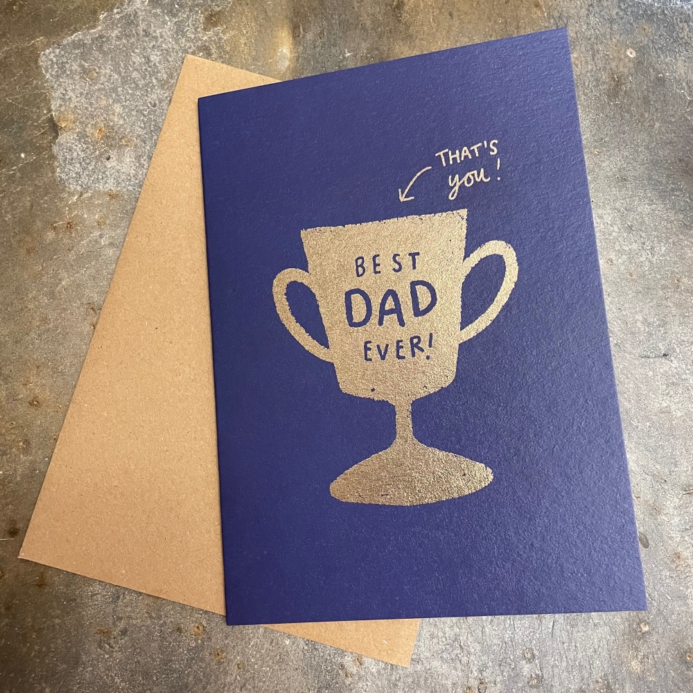 Stitch Paperie - My dad is the best ever