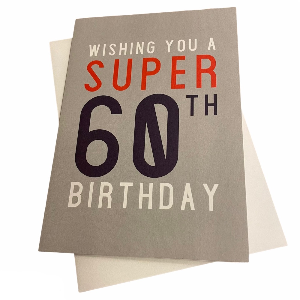Megan Claire - Wishing you a super 60th birthday