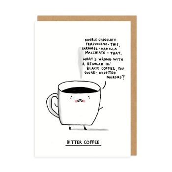 Ohh Deer - Bitter coffee