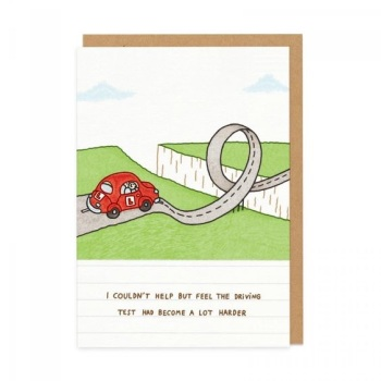 Ohh Deer - I couldn't help but feel the driving test had become a lot harder