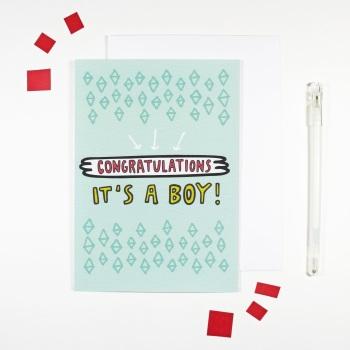 Angela Chick - Congratulations it's a boy!