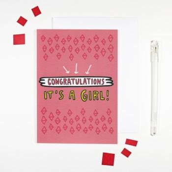 Angela Chick - Congratulations it's a girl!