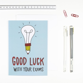 Angela Chick - Good luck with your exams