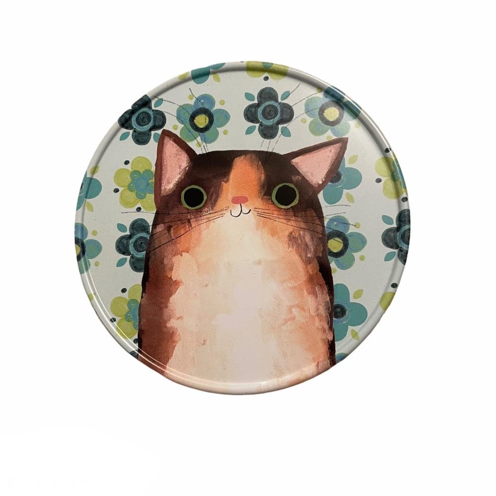 Planet Cat Coaster -